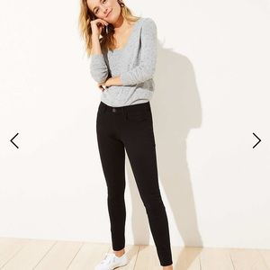 Loft Legging Jeans in Brushed Sateen
